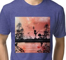Dancing with the birds Tri-blend T-Shirt