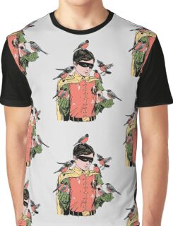 Crazy Bird Lady Graphic T-Shirt
