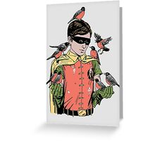 Crazy Bird Lady Greeting Card