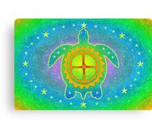 World Turtle Canvas Print
