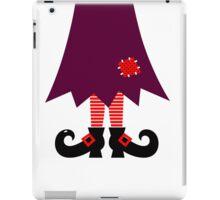 Cartoon Witch legs Vector Illustration iPad Case/Skin