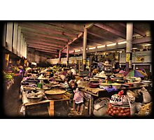 The Indoor Market at Guinea Conakry Photographic Print
