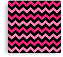 Fashion Zigzag pattern Vector background Canvas Print