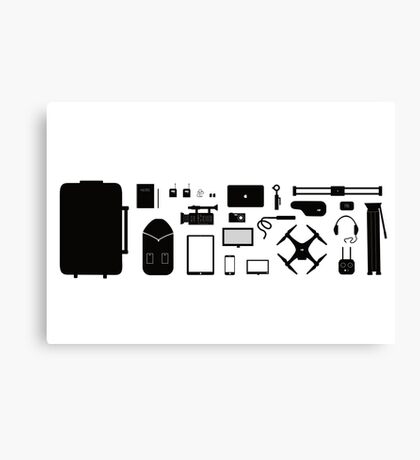 Essential Filmmaking Tools Canvas Print