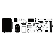 Essential Filmmaking Tools Photographic Print