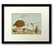 Mouse Garden Framed Print