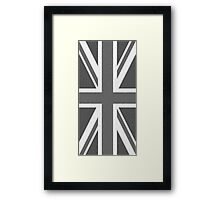 Black and White Union Framed Print