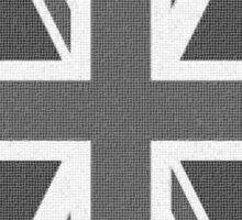 Black and White Union Sticker