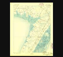 USGS TOPO Map New Jersey NJ Dennisville 255156 1888 62500 Unisex T-Shirt