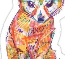 Fennec fox drawing - 2016 Sticker