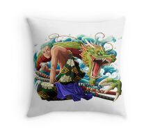 one piece kabuki zoro Throw Pillow