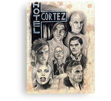 American Horror Story Hotel Caffeine Shock Canvas Print