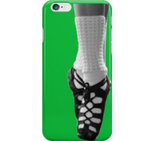 irish dancing iPhone Case/Skin
