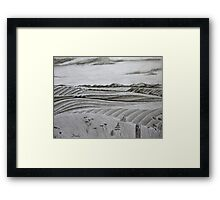 In the countryside Framed Print