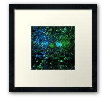 The Tree Of The Blue Planet Framed Print