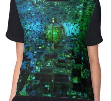 The Tree Of The Blue Planet Chiffon Top