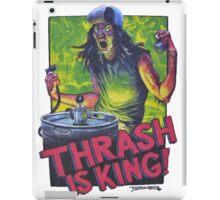 Thrash Is King! iPad Case/Skin
