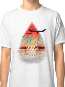 Sea life differently Classic T-Shirt