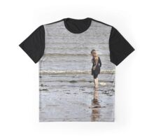 Gazing out to sea Graphic T-Shirt