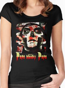 PAPA BLOODY PAPA Women's Fitted Scoop T-Shirt