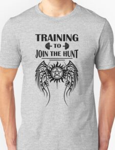 Training To Join The Hunt. SPN. Supernatural. Dean Winchester. Sam Winchester Unisex T-Shirt