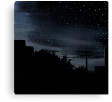 Nights in Suburbia Canvas Print