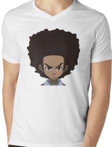 Huey Freeman Mens V-Neck T-Shirt