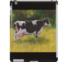Holstein Dairy Cow in Oil Pastel iPad Case/Skin