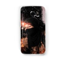 Digitally enhanced Young sexy mid eastern woman with scarf  Samsung Galaxy Case/Skin