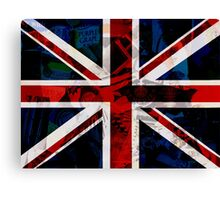 British Punk Canvas Print