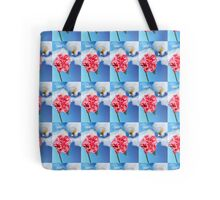 Chow Time for this Honey Bee   Tote Bag