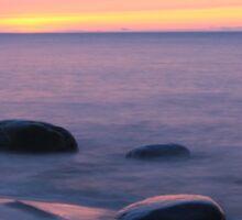 Serene Superior Sunset Sticker