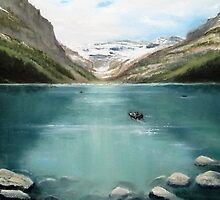 Lake Louise by Geraldine M Leahy