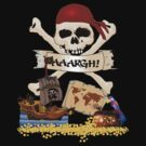 Pirate Icons - Jolly Roger, Treasure Chest, Pirate Ship by Gravityx9