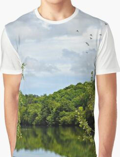 Afternoon at the River Graphic T-Shirt