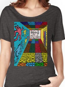 3D Wall - HARING Women's Relaxed Fit T-Shirt