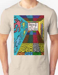 3D Wall - HARING Unisex T-Shirt