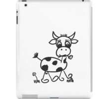 Funny Little Cow iPad Case/Skin