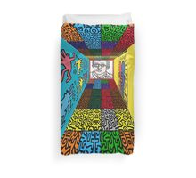 3D Wall - HARING Duvet Cover