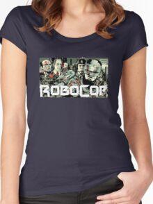 Robocop T-Shirt Women's Fitted Scoop T-Shirt