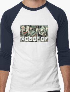Robocop T-Shirt Men's Baseball ¾ T-Shirt