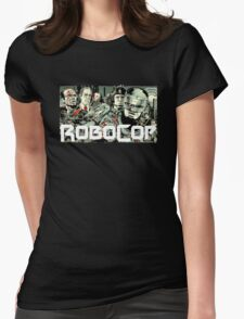 Robocop T-Shirt Womens Fitted T-Shirt