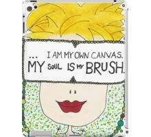 My Soul Is My Brush iPad Case/Skin