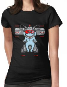 The Dog Rick & Morty Womens Fitted T-Shirt