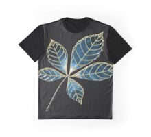 Blue star leaft Graphic T-Shirt