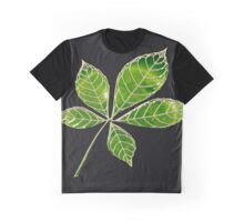 Green star leaft Graphic T-Shirt