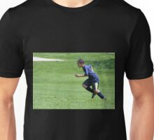 Young Boy Running Unisex T-Shirt
