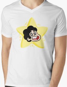 Steven Star Mens V-Neck T-Shirt