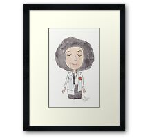 Doctor Who - It's Bill! Framed Print