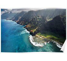 The Na Pali Coast - Kauai Poster